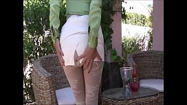 Mature women in stockings and pantyhose