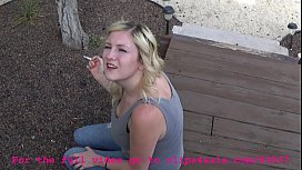 Smoking Sister Gets Blackmailed...