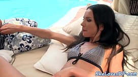 Eurobabe beauty pounded in...