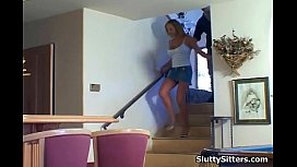 Russian porn housewife and babysitter lesbian
