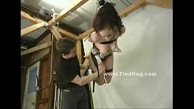 Redhead has her nipples bound (Stop jerking off! Visit RealOne24.com)