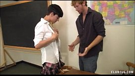 Jerking The Teacher...