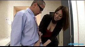 Office Lady Giving Blowjob...