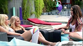 Kinky lesbians August with...