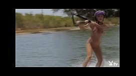 Naked Wakeboard Babes!