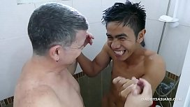 Daddy and Asian Boy...