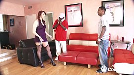 Nicki Hunter Gets Ass Fucked By A Couple Of Black Dudes