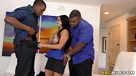 Jewels Jade Tries Anal DP With Black Cock