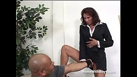 Mature Office Fuck With...