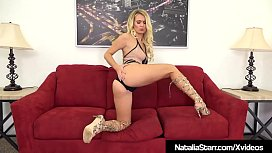 Blonde Beauty Natalia Starr...