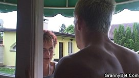 Hot guy screws neighbour...