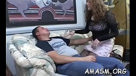 Legal age teenager forced to endure humiliation femdom by mature mommy