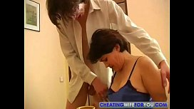 Russian Mature Wife Cheating...