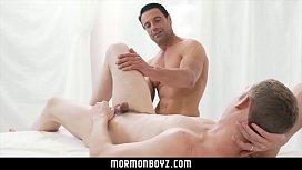Massage and anal play from a hot muscle daddy