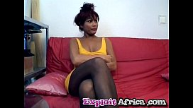 African ebony blowjob riding...