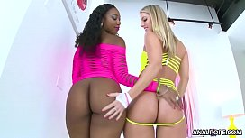 Interracial ATM with booty...