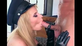 Blonde female cop fucking...