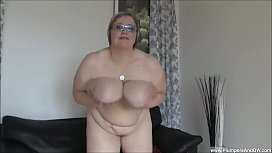 BBW Gertruda Plays with...