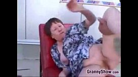 Fat Granny Getting Fucked In The Butt