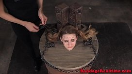 Teen sub dominated with...