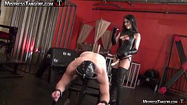 Femdom strapon pegging from...