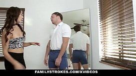 FamilyStrokes - Stepbrother Gets Makeover...