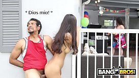 BANGBROS - Teen Gianna Dior Has A f.'s Day Present For Her Step Dad