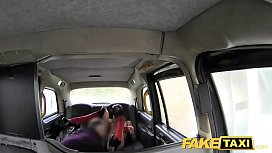 Fake Taxi tall brunette in pantyhose and long sex anal sex facial