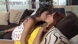 Lesbian Daughter Seducing Mother