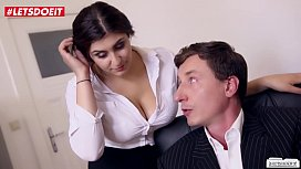 Innocent Teen Secretary Spanks...