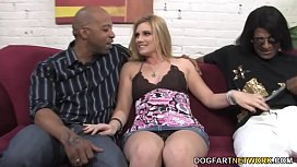Hayden Night Interracial Threesome...