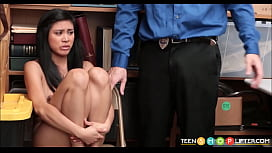 Hot Asian Teen Shoplifter...