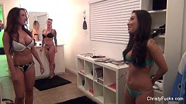 Christy Mack BTS...