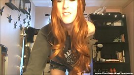 Cute Girl with Raccoon Tail Buttplug on Cam - CamGirlsUntamed.com