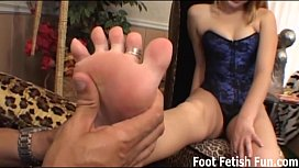 Worship my feet and...