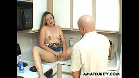 Amateur wife sucks and...