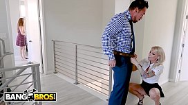 BANGBROS - Husband Stretches Real...