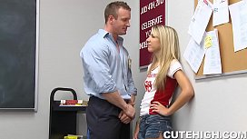 Angry School Teacher Pounding...