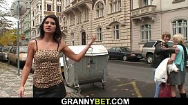Hot granny games with...