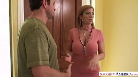 Sara Jay swallows a...