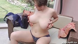 Busty german with AMAZING...