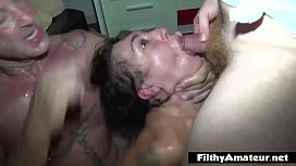 Coke in the ass and head in the toilet! Furious orgy! xxx image