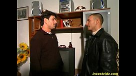 Hot busty mommy fucks...