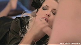 Erotic Blowjob Babe Is...