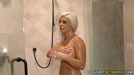 Sara St. Clair Double Penetration with BBC