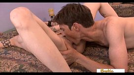 Real mature couple shows their skills in bed on camera
