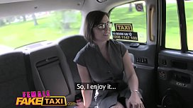 Female Fake Taxi Double...