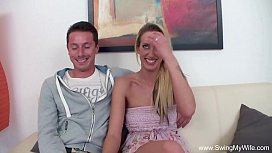 Husband Shares Blonde Wife With BBC
