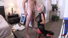 Seduced by their Auntie as the nephews get laid  #taboo  Sally D'_angelo