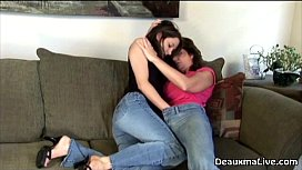 Milf Deauxma Plays with...